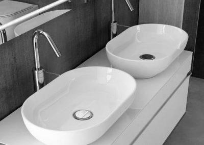 Companion washbasins